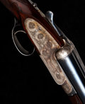 Shotgun:Double Barrel, **Cased 20 Gauge Boss Single Trigger Sidelock Ejector Double Barrel Shotgun....