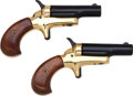 Handguns:Derringer, Palm, Cased Colt Lord Deringer Set....