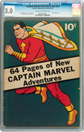 Golden Age (1938-1955):Superhero, Captain Marvel Adventures #nn (#1) (Fawcett, 1941) CGC GD/VG 3.0 Cream to off-white pages....