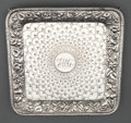 Silver Holloware, American:Trays, A J.E. CALDWELL & CO. SILVER FOOTED TRAY . J.E. Caldwell &Co., Philadelphia, Pennsylvania, circa 1880 . Marks: J.E.CALDW...