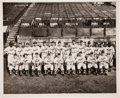 Autographs:Photos, 1946 Montreal Royals Team Signed Photograph with Jackie Robinson....