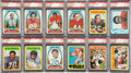 Football Cards:Sets, 1972 Topps Football High Grade High Number Series (#'s 264-351)....