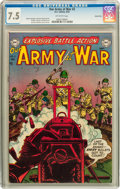 Golden Age (1938-1955):War, Our Army at War #2 Carson City pedigree (DC, 1952) CGC VF- 7.5 Off-white pages....