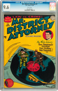 Golden Age (1938-1955):Crime, Mr. District Attorney #2 (DC, 1948) CGC NM+ 9.6 White pages....