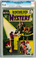 Bronze Age (1970-1979):Horror, House of Mystery #196 (DC, 1971) CGC NM 9.4 White pages....