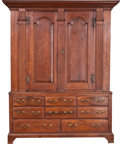 Military & Patriotic, Walnut Gun Cabinet....
