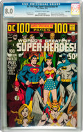 Bronze Age (1970-1979):Superhero, DC 100-Page Super Spectacular #6 Twin Cities pedigree (DC, 1971) CGC VF 8.0 Off-white to white pages....
