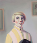 Post-War & Contemporary:Contemporary, FROM THE ESTATE OF DR. EDMUND P. PILLSBURY. MOYNA FLANNIGAN(Scottish, b. 1963). Sherbert Lad, 2003. Oil on linen.25-...