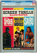 Magazines:Vintage, Screen Thrills Illustrated #8 (Warren, 1964) CGC NM/MT 9.8 Off-white to white pages....