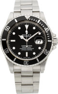 Timepieces:Wristwatch, Rolex Ref. 16610 Steel Submariner, circa 2000. ...