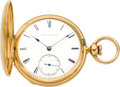 Timepieces:Pocket (pre 1900) , Waltham 18k Gold Model 1860 Appleton Tracy & Co., circa 1865. ...