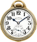Timepieces:Pocket (post 1900), Illinois 23 Jewel 163 Sixty Hour Bunn Special. ...