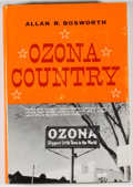 Books:First Editions, Allan R. Bosworth. Ozona Country. New York: Harper &Row, [1964]. First edition. Octavo. Publisher's binding and...