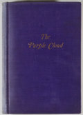 Books:First Editions, M. P. Shiel. The Purple Cloud. New York: Vanguard Press,[1930]. First American edition. Octavo. Publisher's binding...