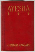 Books:First Editions, H. Rider Haggard. Ayesha: The Return of She. New York:Doubleday, Page, 1905. First edition. Octavo. Publisher's bin...