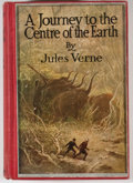 Books:Fiction, Jules Verne. A Journey to the Centre of the Earth. New York: Charles Scribner's Sons, 1923. Later edition. Octav...