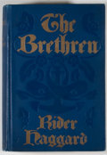 Books:First Editions, [H.] Rider Haggard. The Brethren. New York: McClure,Phillips, 1904. First edition. Octavo. Publisher's binding with...