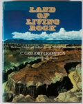 Books:First Editions, C. Gregory Crampton. Land of Living Rock. New York: Knopf,1972. First edition. Quarto. Publisher's binding and pric...