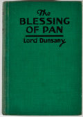 Books:First Editions, Lord Dunsany. The Blessing of Pan. New York: Putnam, 1928.First American edition. Octavo. Publisher's binding. Ex-l...