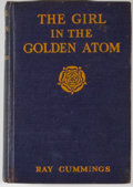 Books:First Editions, Ray Cummings. The Girl in the Golden Atom. New York: Harper& Brothers, 1923. First edition, second state binding. O...