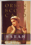 Books:Signed Editions, Orson Scott Card. INSCRIBED. Sarah. [Salt Lake City]: Shadow Mountain, [2000]. Second printing. Inscribed by C...