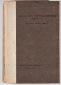 Books:First Editions, Julian Wisner Hinkley. LIMITED. A Narrative of Service with theThird Wisconsin Infantry. [n. p.]: Wisconsin History...