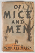 Books:First Editions, John Steinbeck. Of Mice and Men. New York: Covici-Friede,[1937]. First edition, second issue. Octavo. 186 pages. Pu...