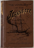 Books:First Editions, Emma De Long [editor]. George W. De Long. The Voyage of theJeannette. The Ship and Ice Journals of George W. De Long, L...