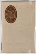 Books:Signed Editions, Malcolm Glenn Wyer. SIGNED/LIMITED. Books and People. [Denver]: Old West Publishing, [1964]. First edition, limite...