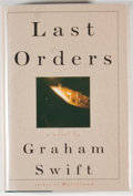 Books:Signed Editions, Graham Swift. Group of Three Signed First Edition Books, including: Out of This World. New York: Poseidon Press, [19... (Total: 3 Items)