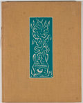 Books:Signed Editions, Catherine Fels [editor]. SIGNED BY LOUIS MONZA. Graphic Work of Louis Monza. Los Angeles: Plantin Press, 1973. First...