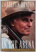 Books:Signed Editions, Charlton Heston. SIGNED. In the Arena. New York: Simon & Schuster, [1995]. First edition, first printing. Signed b...