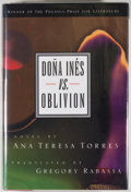 Books:Signed Editions, Ana Teresa Torres. INSCRIBED. Dona Ines Vs. Oblivion. Baton Rouge: Louisiana State University Press, 1999. First Ame...