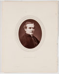 Antiques:Posters & Prints, Lot of 7 Antique Photographic Portraits of English Men of Mark....