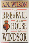 Books:Signed Editions, A. N. Wilson. Group of Two Signed First Edition Books, including: The Rise and Fall of the House of Windsor. [1993].... (Total: 2 Items)