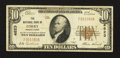 National Bank Notes:Pennsylvania, Corry, PA - $10 1929 Ty. 1 The NB of Corry Ch. # 4823. ...
