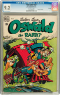 Golden Age (1938-1955):Funny Animal, Four Color #273 Oswald the Rabbit - File Copy (Dell, 1950) CGC NM-9.2 Off-white pages....