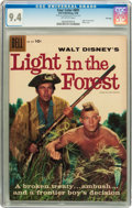 Silver Age (1956-1969):Adventure, Four Color #891 Light in the Forest - File Copy (Dell, 1958) CGC NM 9.4 Off-white pages....