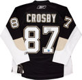 Hockey Collectibles:Uniforms, Sidney Crosby Signed Jersey....