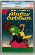Silver Age (1956-1969):Cartoon Character, Four Color #989 Jiminy Cricket - File Copy (Dell, 1959) CGC NM- 9.2 Off-white pages....