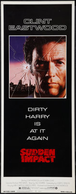 "Sudden Impact (Warner Brothers, 1983). Insert (14"" X 36""). Action"