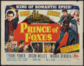 "Prince of Foxes (20th Century Fox, 1949). Half Sheet (22"" X 28""). Adventure"