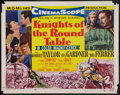 """Movie Posters:Adventure, Knights of the Round Table (MGM, 1953). Half Sheet (22"""" X 28"""")Style B. Adventure.. ..."""