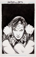 Original Comic Art:Covers, Don Kramer and Michael Babinski Wonder Woman #602 CoverOriginal Art (DC, 2010)....