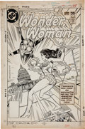 Original Comic Art:Covers, Rich Buckler and Vince Colletta Wonder Woman #244 CoverOriginal Art (DC, 1978)....