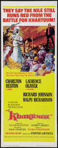 "Movie Posters:Adventure, Khartoum (United Artists, 1966). Insert (14"" X 36""). Adventure....."