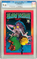 Bronze Age (1970-1979):Alternative/Underground, Slow Death Funnies #1 First Printing (Last Gasp, 1970) CGC NM+ 9.6 Off-white to white pages....