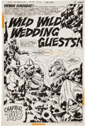 Original Comic Art:Panel Pages, Jack Kirby and Mike Royer Mister Miracle #18 page 4 OriginalArt (DC, 1974)....
