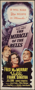 """Movie Posters:Drama, The Miracle of the Bells (RKO, 1948). Insert (14"""" X 36""""). Drama.. ..."""