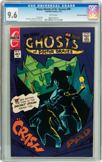 Many Ghosts of Dr. Graves #40 Don Rosa Collection pedigree (Charlton, 1973) CGC NM+ 9.6 White pages